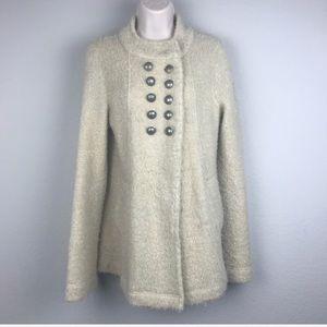 Free People Alpaca Blend Boucle Cardigan Sweater